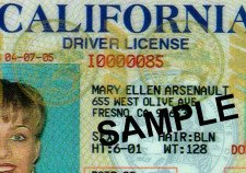 California Drivers License Types